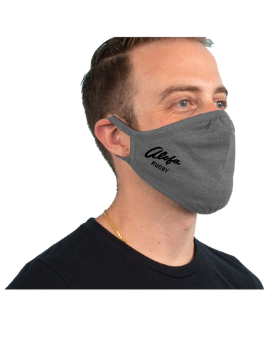 Alofa Rugby 3-Pack Tri-Blend Face Mask (PremiumHeather)