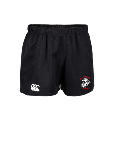 All Marine Rugby Advantage Match Short (Black)
