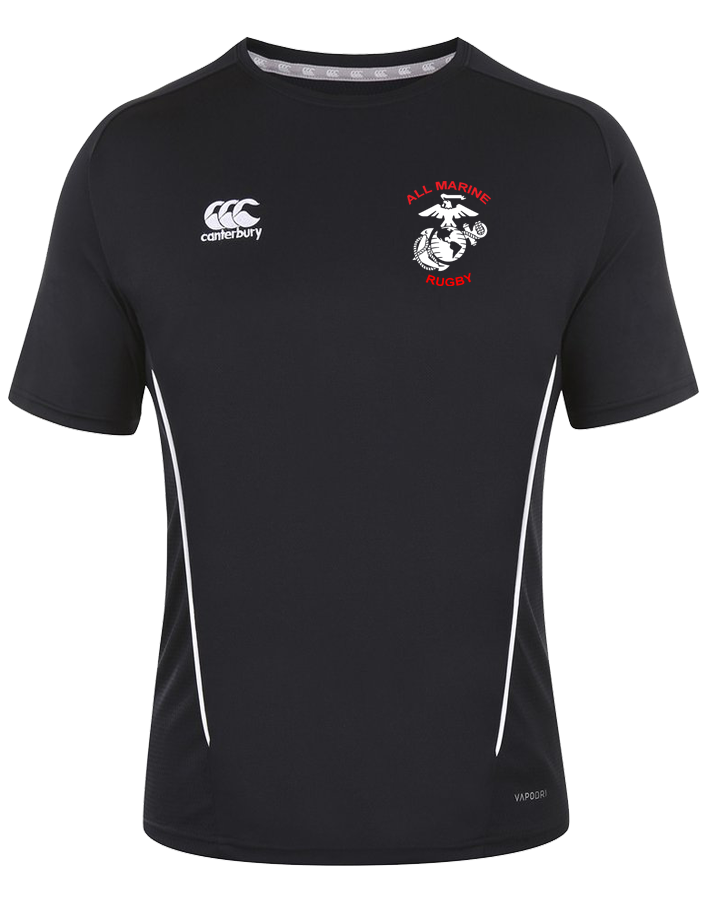 All Marine Rugby Team Training Shirt (Black)