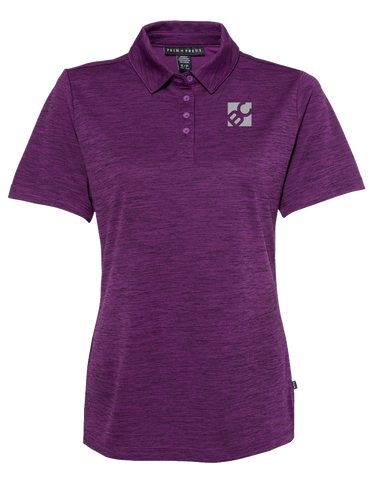 Burge Ladies Pique Sport Polo (PlumHeather)