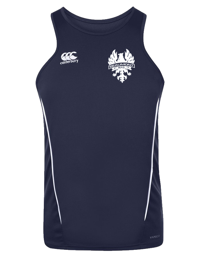 Beaumont Rugby Training Singlet (Navy)