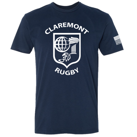 Claremont College Rugby Core Tee (Midnight Navy)
