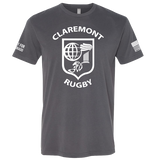 "Claremont College Rugby ""Hunt For Colorado"" Tee (Heavy Metal)"