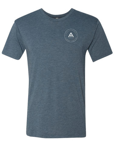 CFAP Challenge You Mens Tri-Blend Crew (Indigo)