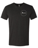 CFAP Circle Icon Mens TriBlend Crew (VintageBlack)