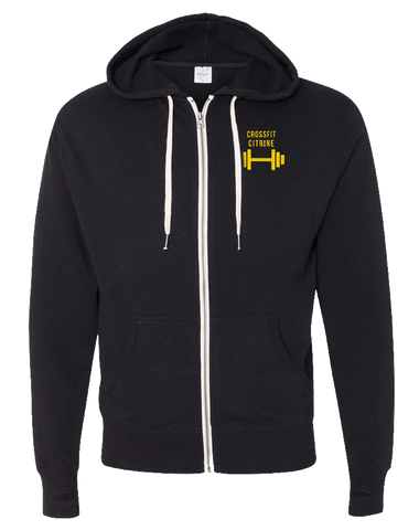 CF Citrine Anniversary Edition Full Zip Hoodie (Black)