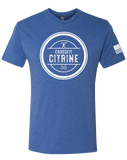CF Citrine Mens Tri-Blend Crew (VintageRoyal)