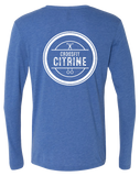 CF Citrine Triblend Long Sleeve Tee (VintageRoyal)