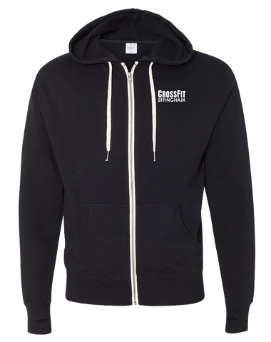CF Effingham Core Full Zip Hoodie (Black)