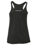 Chiefs Rugby Womens Tri-Blend Racerback Tank (VintageBlack)