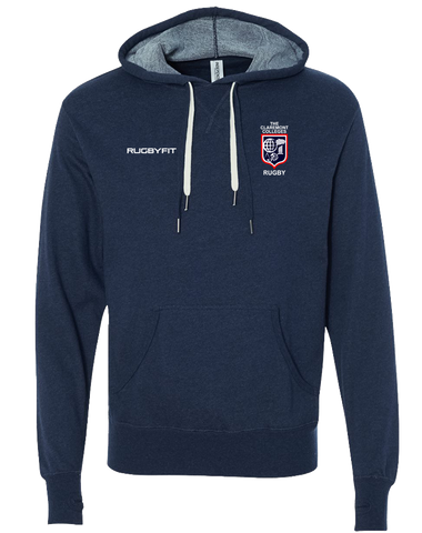 CCR Rugby Pullover Hoodie (NavyHeather)