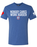 CCR Rugby Nobody Cares Mens Tri-Blend Crew (VintageRoyal)