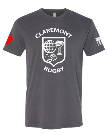 CCR Rugby Mens Premium Sueded Tee (HeavyMetal)
