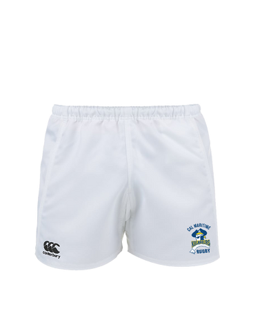 Cal Maritime Premium Match Short (White)