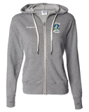 Cal Maritime Full Zip Hoodie (Salt-N-Pepper)