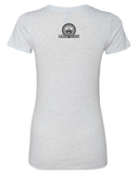 Coconuts Rugby Dead Rabbit Womens Tri-Blend Tee (HeatherWhite)