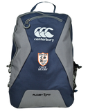 CSUF Rugby Club Teamwear Backpack (Navy-Grey)