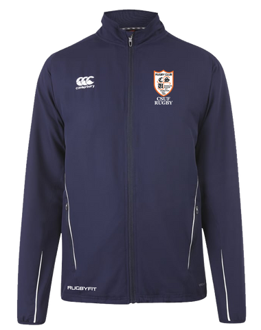 CSUF Rugby Team Track Jacket (Navy)