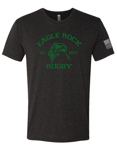 Eagle Rock Mens Tri-Blend Crew (VintageBlack)