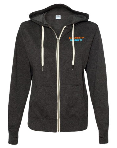Eternity CrossFit Full Zip Hoodie (CharcoalHeather)