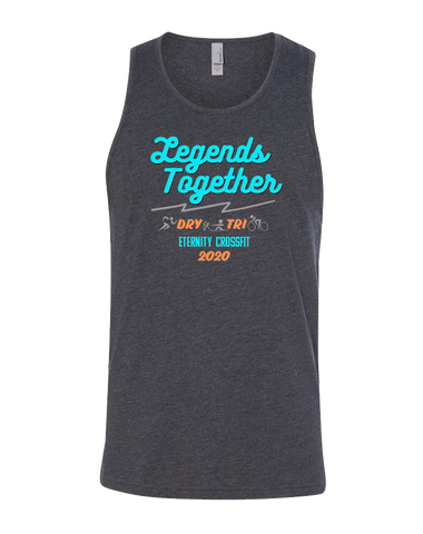 Eternity CF Legends Together Fund Raiser Mens CVC Tank (Charcoal)