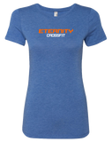 Eternity CF Max3CF Chest Banner WB Womens Tri-Blend Tee (VintageRoyal)