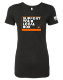 Eternity CF Support Your Box Womens Tri-Blend Tee (VintageBlack)