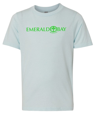 Emerald Bay Swim Adult Tee (Ice Blue)