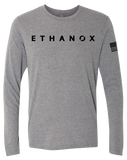 Ethanox Triblend Long Sleeve Tee (PremiumHeather)