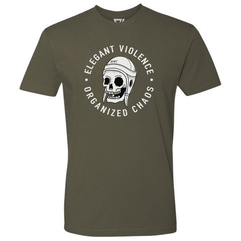 Scrum Skull Premium Tee (Military Green)