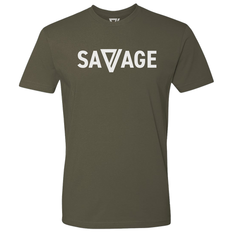 Savage Premium Tee (Military Green)