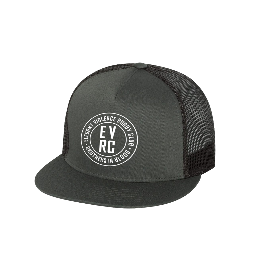 EV Brothers Transfer Trucker Cap (Charcoal)