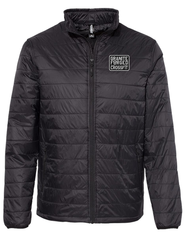 Granite Forged Puffer Jacket (Black)