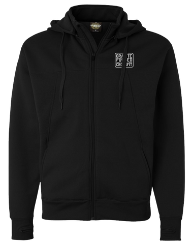 Granite Forged Poly Tech Hoodie (Black)