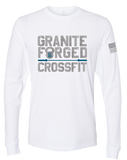Granite Forged Mens Premium Sueded Long Sleeve (White)