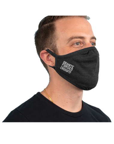 Granite Forged 3-Pack Tri-Blend Face Mask (VintageBlack)