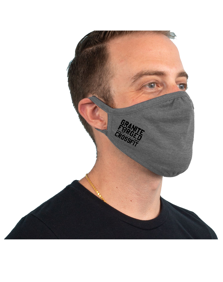 Granite Forged 3-Pack Tri-Blend Face Mask (PremiumHeather)