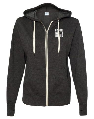 Granite Forged Full Zip Hoodie (CharcoalHeather)