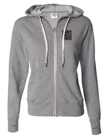 Granite Forged Full Zip Hoodie (Salt-N-Pepper)