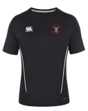 KWCRFC Shield Icon Vapodri Tee (Black-White)