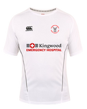 KWCRFC Sponsored Vapodri Tee (White-Black)