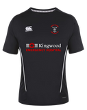 KWCRFC Sponsored Vapodri Tee (Black-White)