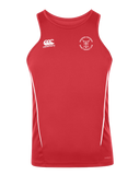 KWCRFC Shield Icon Vapodri Singlet (Red-White)