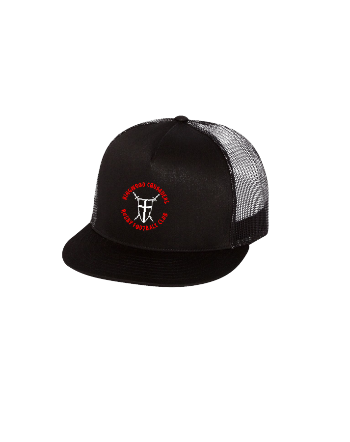 KWCRFC Shield Icon Trucker Cap (Black)