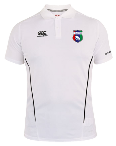 LHRC Vapodri Polo (White-Black)