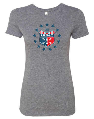 LRSAC Shield Womens Tri-Blend Tee (PremiumHeather)