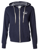 Max 3 CrossFit Core Full Zip Hoodie (NavyHeather)