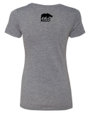 Max 3 CrossFit Womens Tri-Blend Tee (PremiumHeather)