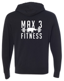 Max 3 Fitness Pullover Hoodie (Black)