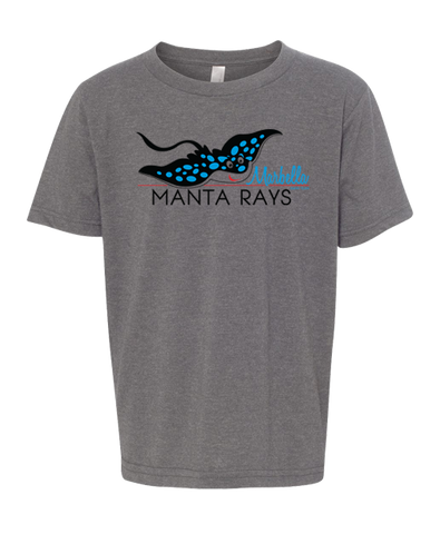 Marbella Swim Youth Tee (Dark Heather)